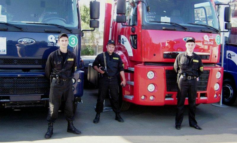Сопровождение грузов ЧОП Купол в Казани